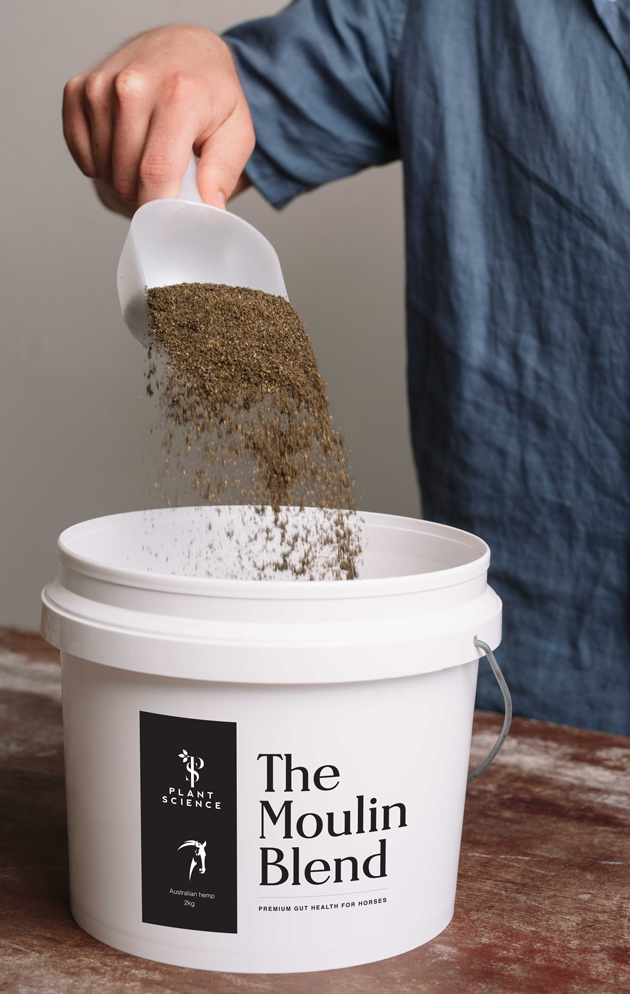 Image of Moulin Blend Tub and Product Pouring