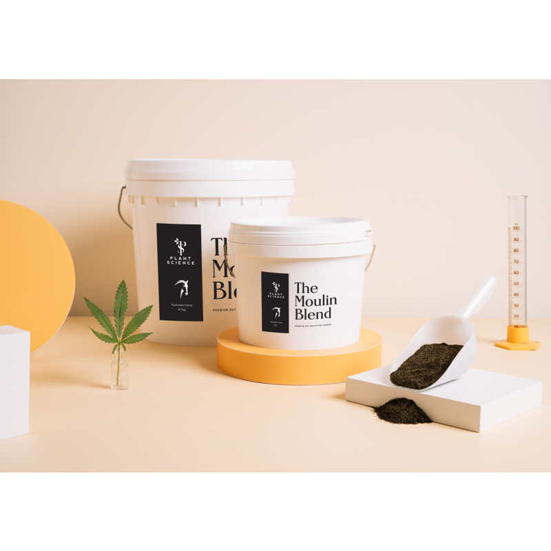 Image of The Moulin Blend tub and product