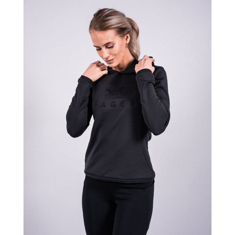 Fager Polly Hoodie Black