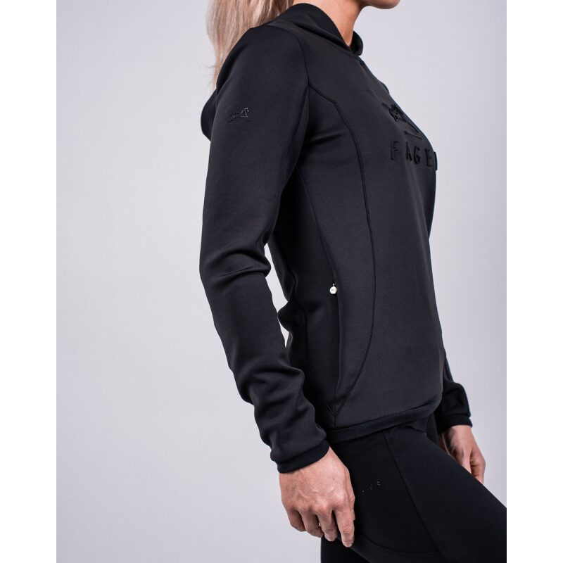 Fager Polly Hoodie Black Side View